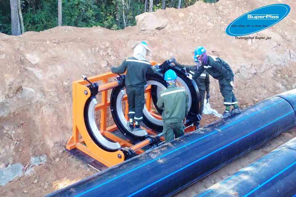 Super Trường Phát có dịch vụ cho thuê máy hàn ống nhựa HDPE