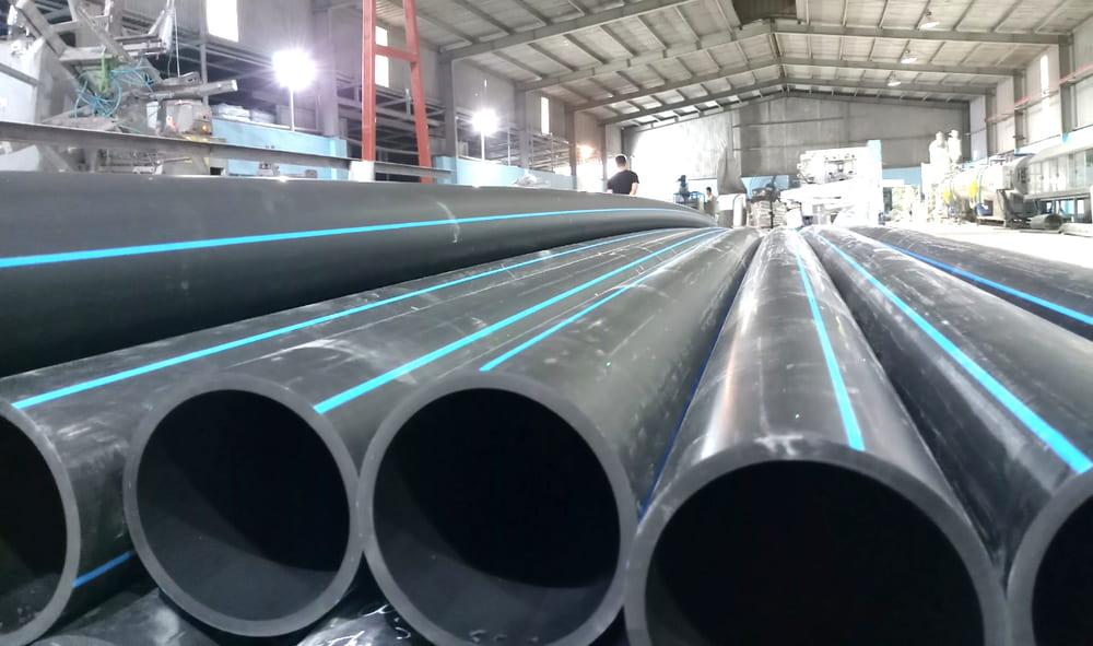 Ống HDPE được ứng dụng nhiều trong việc cấp nước và vận chuyển khí đốt