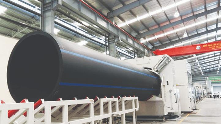 Ống HDPE có nhiều ưu điểm vượt trội hơn các loại ống thông thường