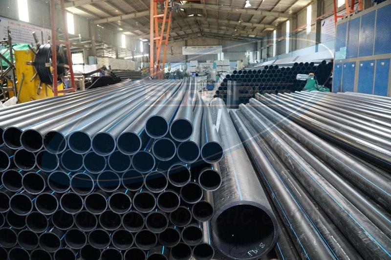 Nhà máy sản xuất và gia công ống HDPE hàng đầu