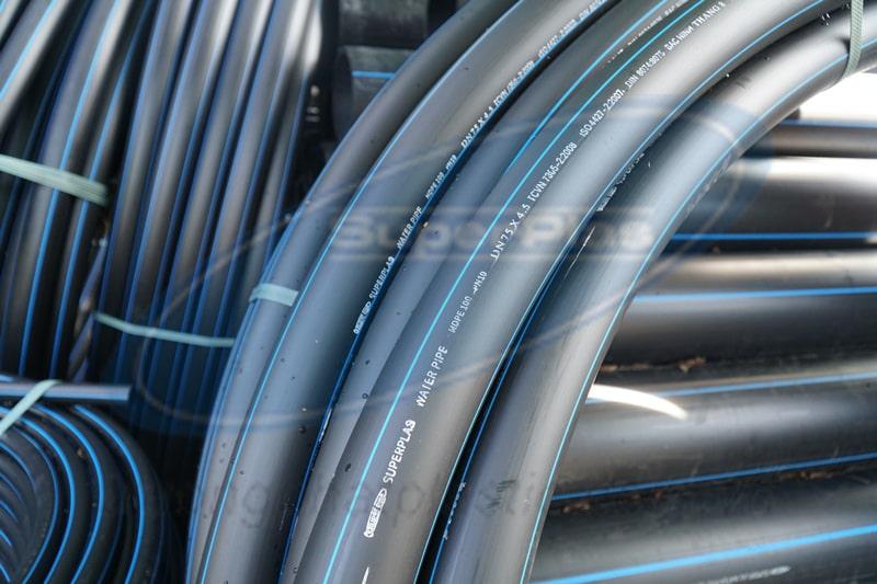 Ống nhựa HDPE SuperPlas siêu bền, phù hợp mọi dự án.